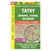 Tatry (Západné - Vysoké - Belianské) / Tátra (Liptói-, Magas-, Bélai) turistatérkép/ Shocart