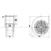 Tech Kazán befuvó ventilátor T-230