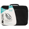 "TechAir Laptop Bag with wired mouse v4 11.6"" fekete"