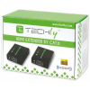 Techly HDMI extender, Cat.6/6a.7 kábel, 60m-ig, Full HD 3D