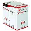 Techly Pro Feltekert telepítő kábel  UTP Cat6 4x2 drót CCA 305m kék