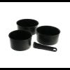 Tefal Ingenio Performance 3 részes edénykészlet - fekete (L6549503)