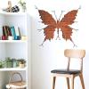 Téglafal pillangós mintával 3D falmatrica