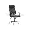 Teirodád.hu ANT-067-CR ALFA krómlábas főnöki fotel, textilbőr