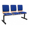 Teirodád.hu ANT-1323 TLN fa várótermi pad 3 üléssel