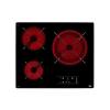 Teka Kerámia Főzőlap Teka TB6315 60 cm Fekete (3 főzőfelületek)