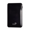 Tel1 Slim Dual USB Power Bank 8000mAh, fekete