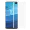 Telealk Samsung Galaxy S10 Plus kijelzővédő fólia, teljes képernyős 3D hajlított, átlátszó