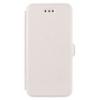 Telone Book Pocket oldalra nyíló fényes bőrbevonatos támasztós fliptok Sony E5803 Xperia Z5 Compact-hoz fehér*