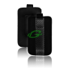 "Telone Carbon kihúzhatós univerzális bőrtok (3.5""-ig) 3G/4G/E71/E72/N8/I900/S5330/S5830"