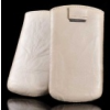Telone Special Creased álló kihúzhatós bőrtok HTC G8 Wildfire méretű bézs*