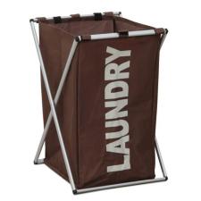 Tempo LAUNDRY 1 szennyestartó kosár sötétbarna bútor