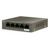 Tenda TEG1105P-4-63W 5-Port Gigabit Desktop Switch with 4-Port PoE