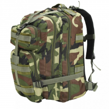 Terepmintás katonai hátizsák 50 L hátizsák