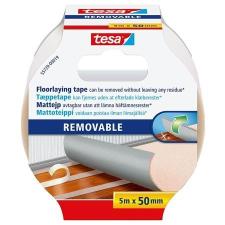 """Tesa Ragasztószalag, kétoldalas, textilerősítésű, 50 mm x 5 m, TESA """"Removable"""" ragasztószalag"""