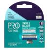 Tesco Pro Formula for Men Rightfit 3. hárompengés borotvafejek 4 db