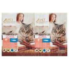 Tesco Tesco Pet Specialist kiegészítő eledel macskáknak jutalomfalat lazaccal & pisztránggal 10 db 50 g macskaeledel