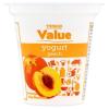 Tesco Value őszibarackos sovány joghurt 125 g