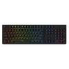 Tesoro GRAM Spectrum Low Profile Red Switch RGB mechanikus billentyűzet (HU, USB, fekete)
