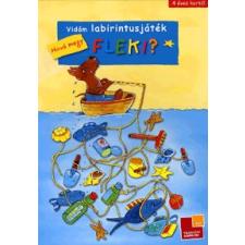 Tessloff és Babilon Kiadó Vidám labirintusjáték: Hová megy Fleki? gyermek- és ifjúsági könyv