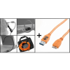 TETHERTOOLS Starter Tethering Kit w/ USB 3.0 SuperSpeed A to B 15 narancssárga
