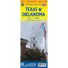 Texas és Oklahoma térkép - ITM