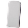 TFO DeLuxe lefelé nyíló bőrbevonatos fliptok kártyatartóval Apple iPhone 6 4.7, 6S 4.7-hez fehér (GSM009443)*