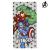 The Avengers Strandtörölköző The Avengers 75683 Mikroszál Szürke