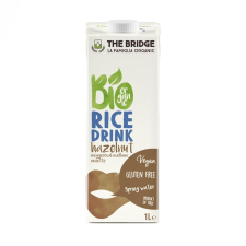 The bridge bio rizsital mogyoró 1000 ml tejtermék