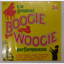 The Greatest Boogie Woogie Performances LP (VG+/VG+) ITA jazz