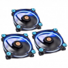 Thermaltake Riing 12 LED Blue 3-Fan Pack, (CL-F055-PL12BU-A)