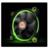 Thermaltake Riing 14, 140mm LED ventilátor - zöld