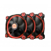 Thermaltake RIING RED led 120mm 3db/set (CL-F055-PL12RE-A)