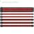 Thermaltake TtMod Sleeve moduláris tápkábel kit 0.3m fekete-piros