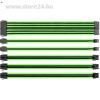 Thermaltake TtMod Sleeve moduláris tápkábel kit 0.3m fekete-zöld