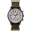 Timex MK1 Aluminum Chronograph 40mm Fabric Watch TW2R67900