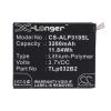 TLp032BD Akkumulátor 3200 mAh