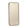 Tok, Elegance, mágneses, oldalra nyíló műbőr flip tok, Samsung Galaxy A5 (2017) A520, arany, (szilikon belsővel), csomagolás nélküli