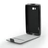 Tok, flip tok, Samsung Galaxy J6 (2018), fekete, flexi, csomagolás nélküli
