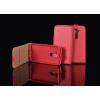 Tok, flip tok, Sony Xperia M4 Aqua, piros, flexi, csomagolás nélküli