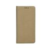 Tok, mágneses oldalra nyíló Smart flip tok, Sony XZ, arany, (szilikon belsővel), csomagolás nélküli
