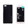 Tok, Mercury i-Jelly, fémhatású matt szilikon, Xiaomi Redmi Note 4 / 4X, fekete