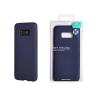 Tok, Mercury Soft Feeling matt szilikon, Samsung Galaxy A8 (2018) A530, sötétkék