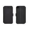 Tok, oldalra nyíló flip tok, Nokia 7 Plus, fekete, flexi, csomagolás nélküli