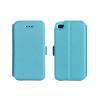 Tok, oldalra nyíló flip tok, Samsung Galaxy A5 (2016) A510, kék, flexi, csomagolás nélküli