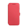 Tok, oldalra nyíló flip tok, Samsung Galaxy S9 Plus, G965, piros, flexi, csomagolás nélküli