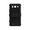 Tok, Panzer, ütésálló tok, Samsung Galaxy J1 (2016) J120, fekete, csomagolás nélkül