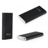 tok-shop.hu Sony Xperia E4g, TPU szilikon tok, fényes keret, füst