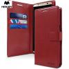 tok-shop.hu Sony Xperia M4 Aqua, TPU szilikon tok, ultravékony, piros