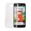 Tok, Ultra Slim-szilikon tok, LG K3, átlátszó, csomagolás nélkül